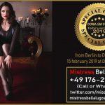 Mistress Bella Lugosi- Doma SM Studio